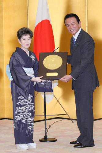 7月1日は何の日【女優・森光子さん】国民栄誉賞受賞